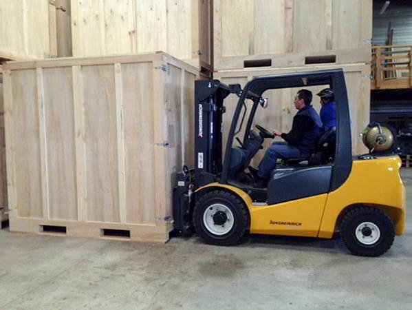 AB Charteau des containers bois de 8 m3