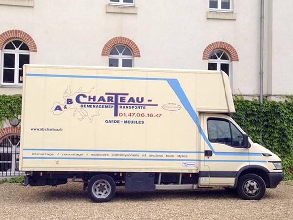 AB Charteau des véhicules legers pour les petits demenagements