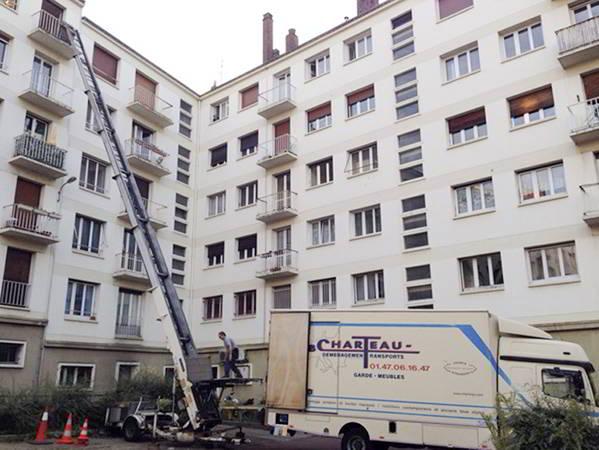 AB Charteau monte meubles acces hauteurs moyennes