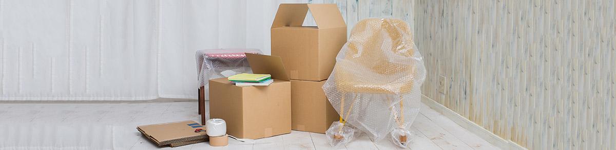 Cartons et fournitures pour votre déménagement